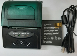 Printer Golden Plus BB 2058 có Bluetooth và Pin.